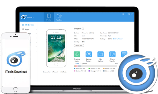 iTools 4.4.3.6 Pro Crack 2019 {updated} Version Download
