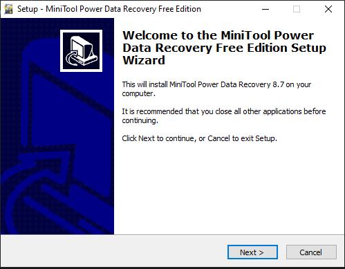 MiniTool Power Data Recovery 8.8 Crack Latest Serial Key 2020