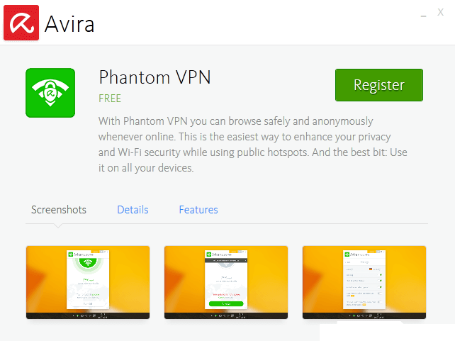 Avira Phantom VPN Pro 2.28.2.26289 With Full Crack Key 2020
