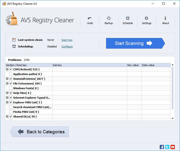 AVS Registry Cleaner Latest Crack