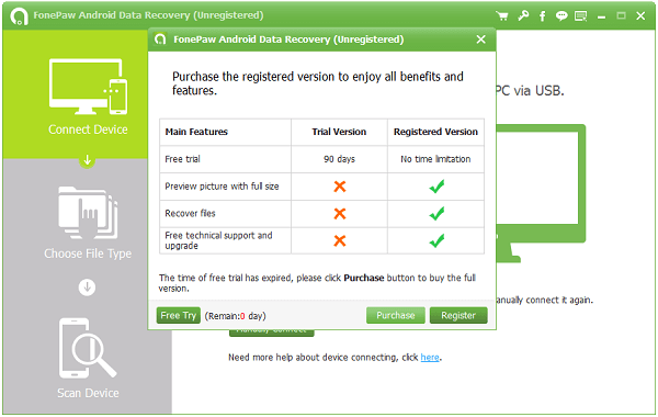 FonePaw Android Data Recovery Crack Registration Code 2020